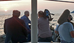 WITH RICK STEIN AND BBC TEAM ONBOARD!