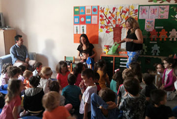 VISITING THE 2nd KINDERGARDEN OF PREVEZA!